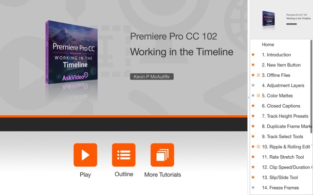 Timeline Course For Premiere Pro CC on the Mac App Store