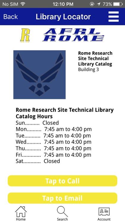 AFRL Rome screenshot-4
