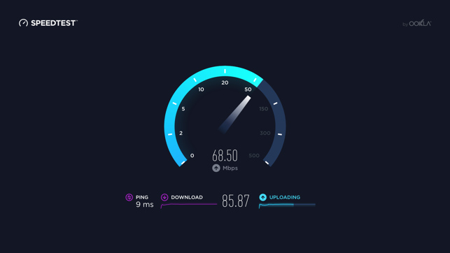 ‎Speedtest - ADSL Speed Test Screenshot