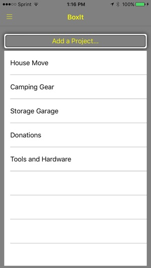 boxit your low friction personal inventory manager on the app store