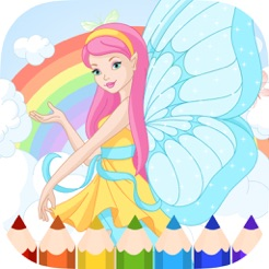 Fairy Coloring Book - Painting Game for Kids on the App Store