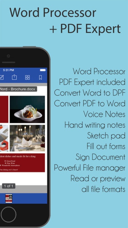 Word Documents - for Microsoft Office Word edition