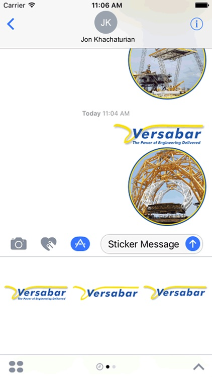 Versabar Stickers
