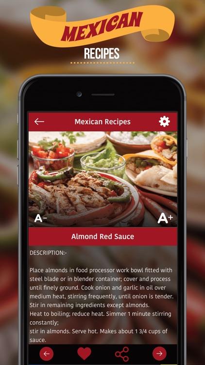 Mexican Recipes ** screenshot-3