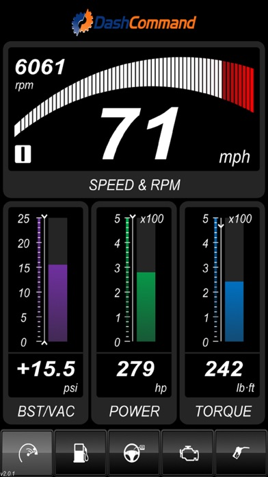 DashCommand - OBD-II gauge dashboards, scan tool, and vehicle diagnostics Screenshot 4