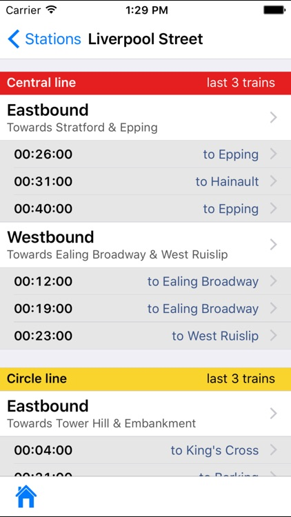 Tube Times screenshot-0