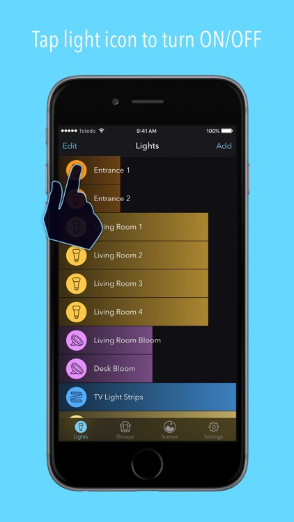 Huemote – A Fast Remote for Your Philips Hue Lights