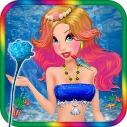 Mermaid Princess Makeover Salon