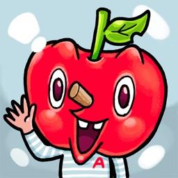 Mr. Apple & Fruity Friends Sticker
