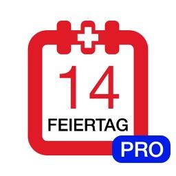 Feiertage Schweiz Kalender & Kalenderwochen Pro