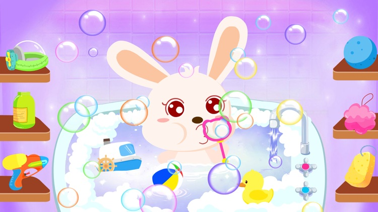Bath Time-BabyBus screenshot-4