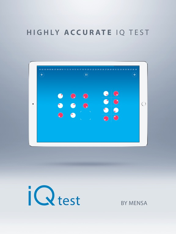 Screenshot #1 for IQ Test - With Solutions