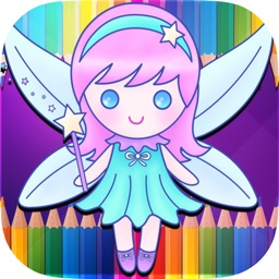 My Fairy Coloring Book - Fairy Coloring Game
