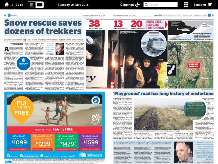 NZ Herald e-Edition screenshot-0