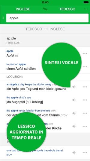 Traduttore pons online su app store for Traduttore apple
