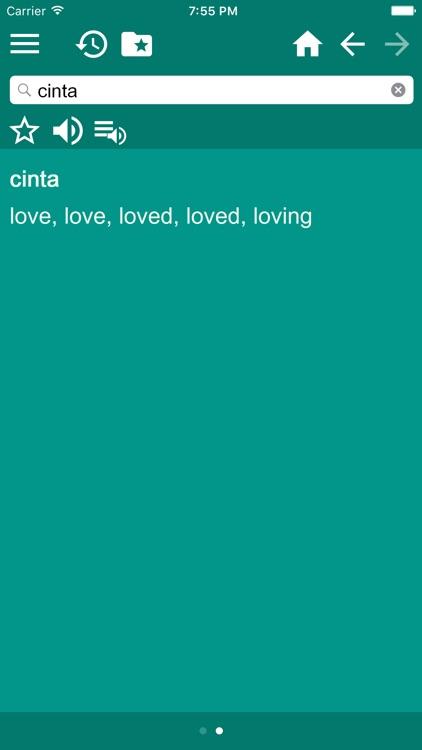 English-Indonesian Dictionary screenshot-3