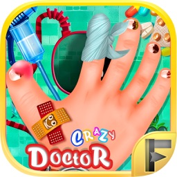Crazy Hand & Nail Doctor Surgery - Free Kids Games