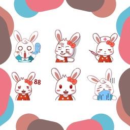 Pretty Animated Rabbit Gifs & Emoji & Stickers New