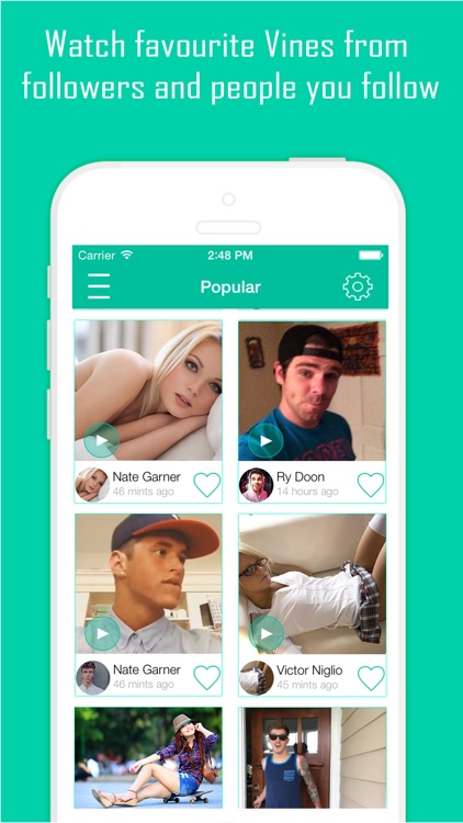 Best VineGram Free - View, Like and ReVine Videos for Vine screenshot-3