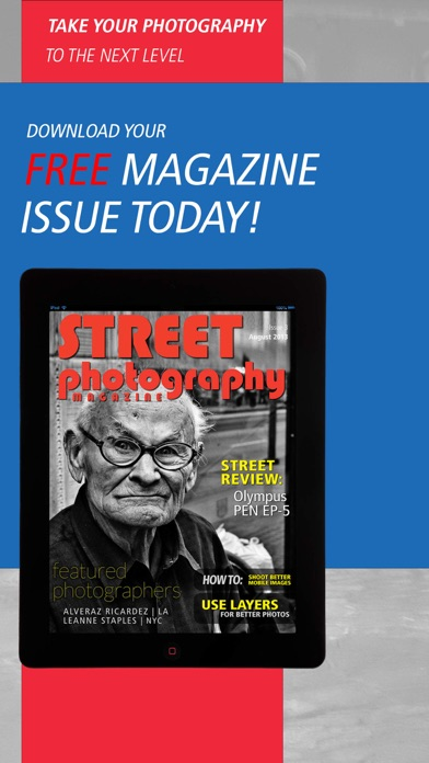 Street Photography Magazine review screenshots