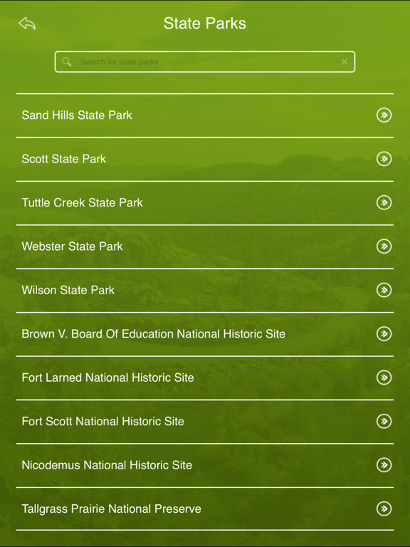 Screenshot #6 pour Kansas State Parks