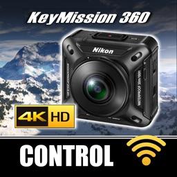 Control for Nikon Key Mission 360