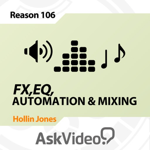 FX & Mixing Course For Reason