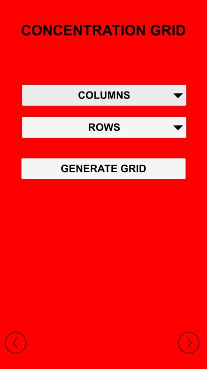 Concentration Grid screenshot-4