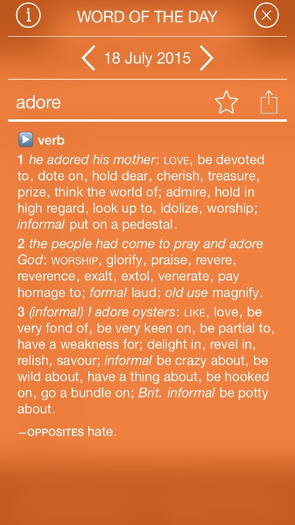 Oxford Concise Thesaurus screenshot-3