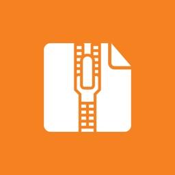 FoxZip : Zip and Unzip password protected file
