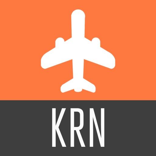 Kiruna Travel Guide with Offline City Street Map