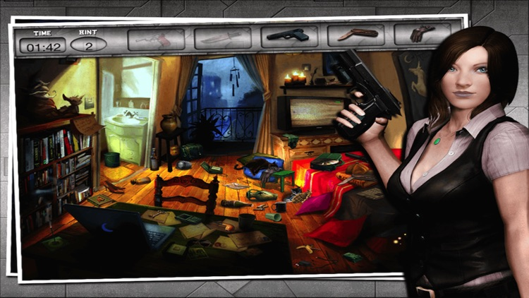 Criminal HiddenObject- Free CrimeCase Game screenshot-4