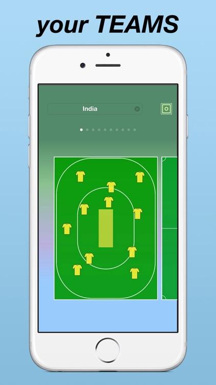 My Lineup PRO: Soccer, Rugby, Baseball, Hockey ... screenshot-4