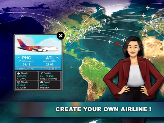 Airlines Manager : Tycoon 2018 на iPad