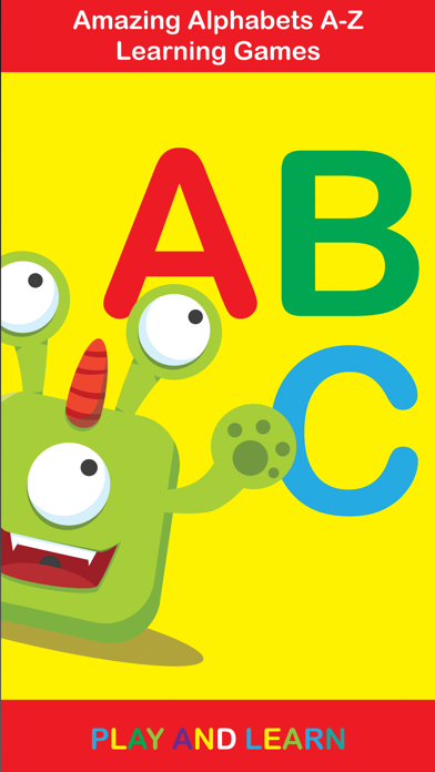 ABC Monster School write and read for toddlers homeschooling screenshot one
