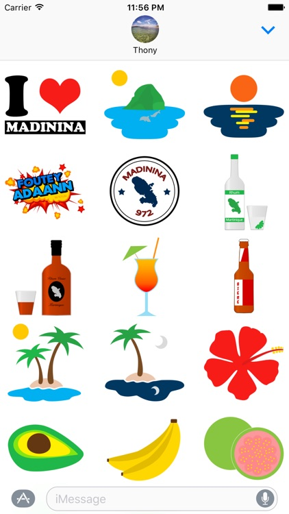 MadaMoji - Martinique Stickers
