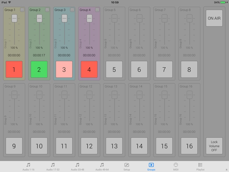 iMiX16 Band screenshot-1