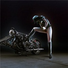 Motorrad-Girls Wallpapers HD: Zitate icon
