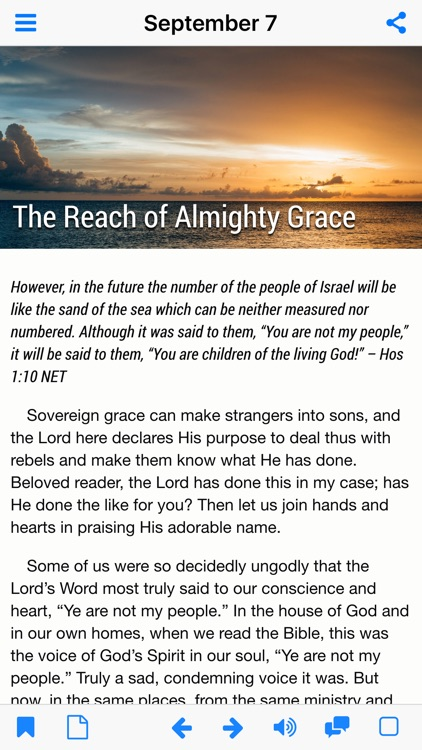 God's Promises - Faith's Checkbook Daily Devotional screenshot-3