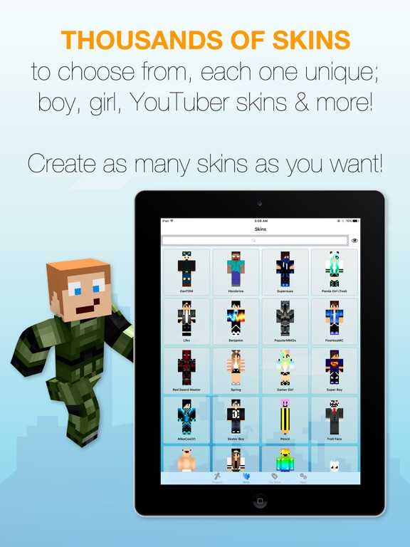 Best Skins Creator Pro For Minecraft PE PC Revenue Download - Minecraft skin fur pc erstellen