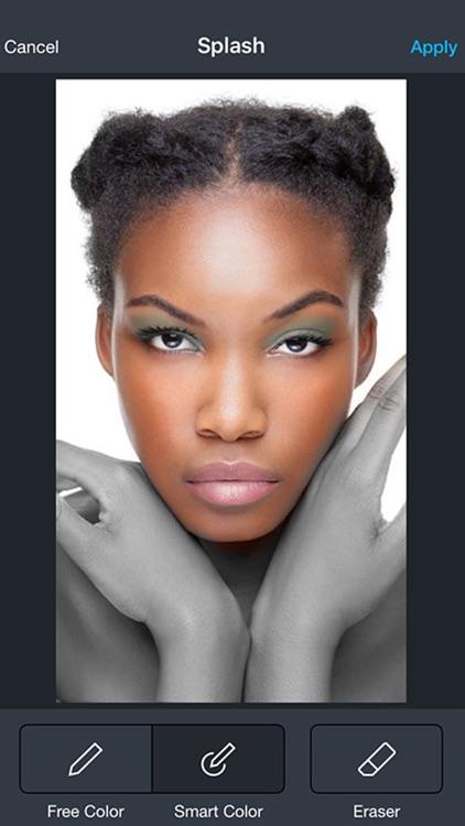 Behold : Contouring plus selfie makeup editor app screenshot-3