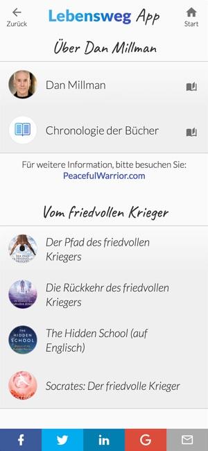 Das Lebensweg App Screenshot