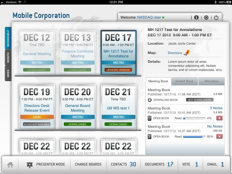 Nasdaq Directors Desk screenshot-1