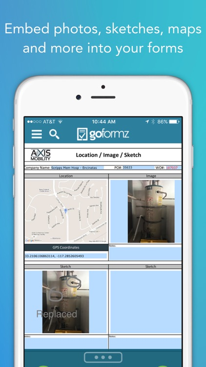 GoFormz Mobile Forms and Reports screenshot-0