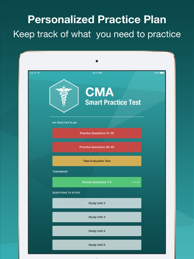 CMA Smart Exam Prep - Medical Assistant Test on the App Store