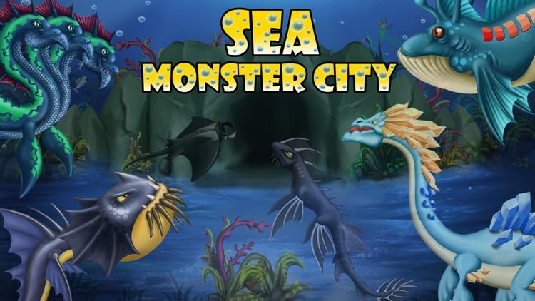 Sea Monster City - Monsters evolution & battle games