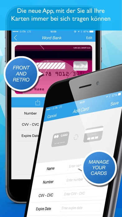Screenshot for Secure Card Pro in Germany App Store
