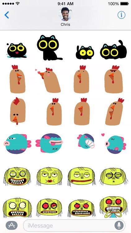Slicker Stickers