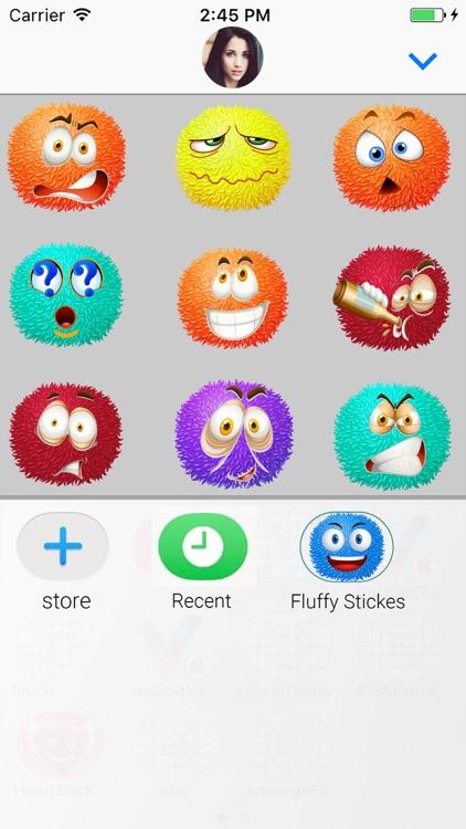Fluffy Emoji :Animated Sticker screenshot-3