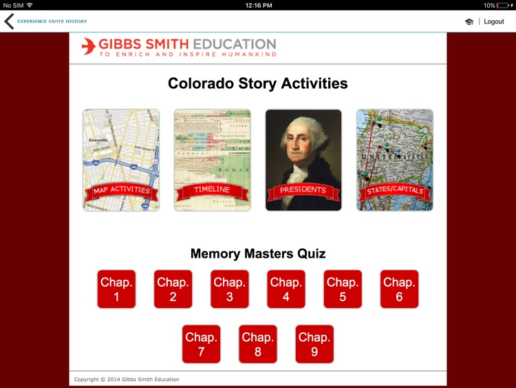 Gibbs Smith Education screenshot-4